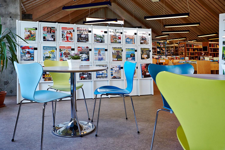 Biblioteksindretning: Modernisering af Borup bibliotek med børnezone