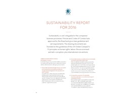 GB LDG sustainability report 2016
