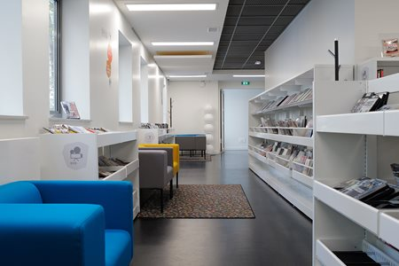 Inspirationsgalleri til biblioteksindretning for Interior zaventem